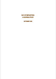 DOR Scoping Study 2006