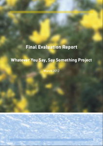 Final Evaluation WYSSS_2012