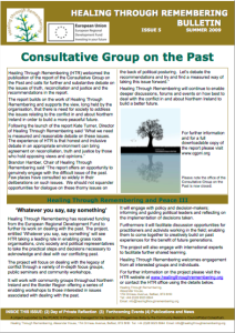 HTR Newsletter Summer 2009