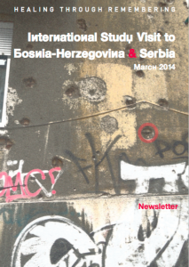 ISV Newsletter Bosnia Serbia_2014