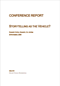 Storytelling as the vehicle_2005